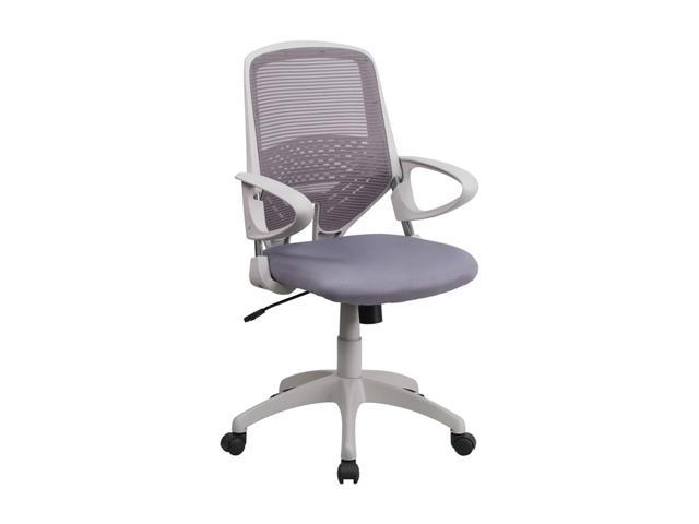 Flash Furniture Mid-Back Dark Gray Mesh Office Chair [H-0549FX-DK-GY-GG]