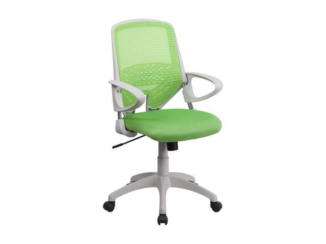 Flash Furniture Mid-Back Green Mesh Office Chair [H-0549FX-GN-GG]