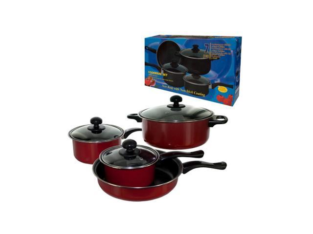 Kole Imports Stainless Steel 7-Piece Cookware Set Pack Of 1