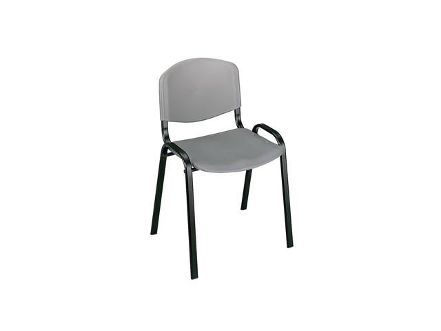 Safco Stack Chairs (Qty.4) Charcoal