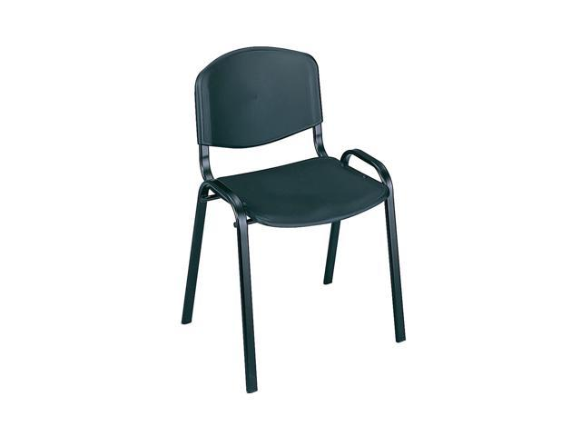 Safco Home Office Products Stack Chairs (Qty.4) Black