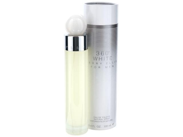 PERRY ELLIS 360 WHITE by Perry Ellis EDT SPRAY 3.4 OZ for MEN