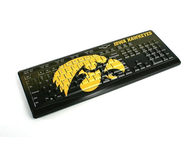 Iowa Hawkeyes Wireless USB Keyboard