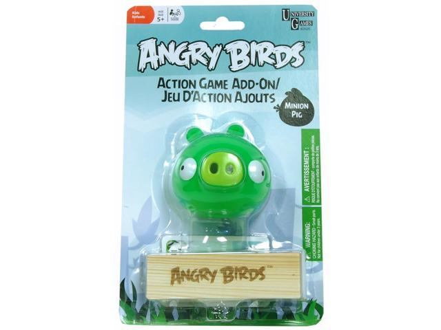 Angry Birds Action Game Add On Assorted Green Minion Pig