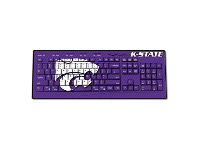 Kansas State Wildcats Wireless USB Keyboard