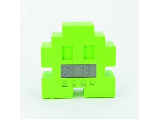 Space Invaders Digital Alarm Clock