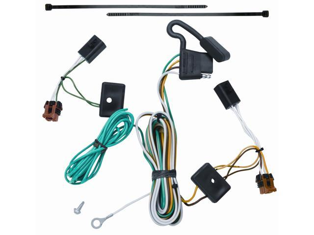 118451 t one trailer hitch wiring harness gmc acadia 2007 2012