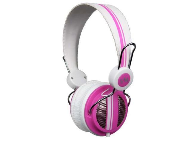 VM Audio Shaker SRHP5 Stereo Over-Ear DJ Headphones (Pink)