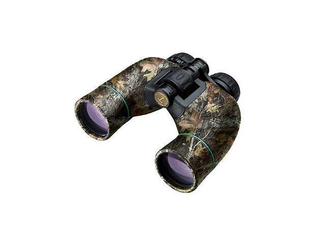 Leupold Rogue 8x42mm Porro Prism Waterproof Binoculars, Mossy Oak Break-Up