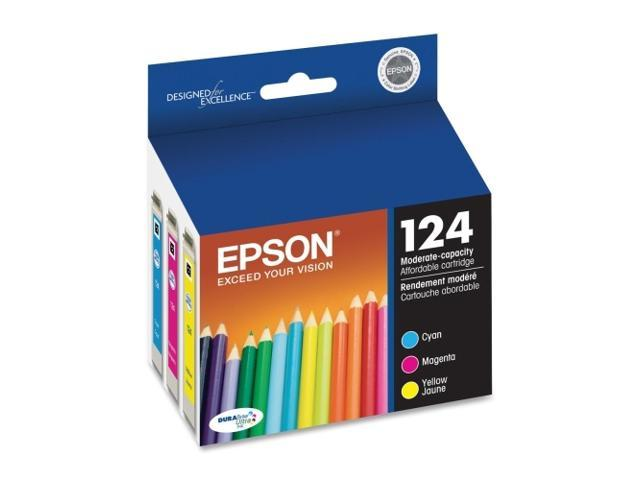 EPSON T124520 124 Moderate-Capacity Ink Cartridge Multi-Pack Color