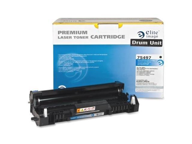 Elite Image 75497 Replacement Drum 25 000 Page Yield Black