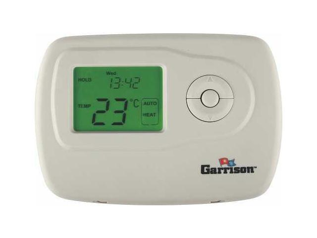 Garrison 119088 Digital Thermostat, 2 Stage Heat/Cool Programmable - 4