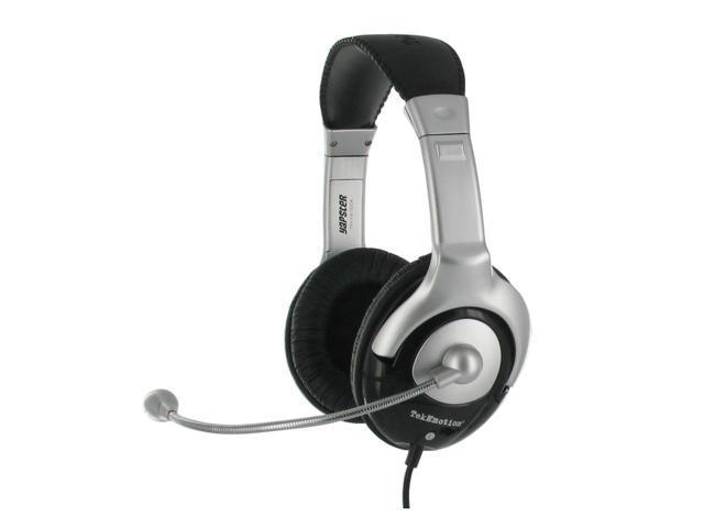 TekNmotion TM-YB100A 3.5mm Connector Circumaural Black Yapster Universal Gaming Headset (Black)
