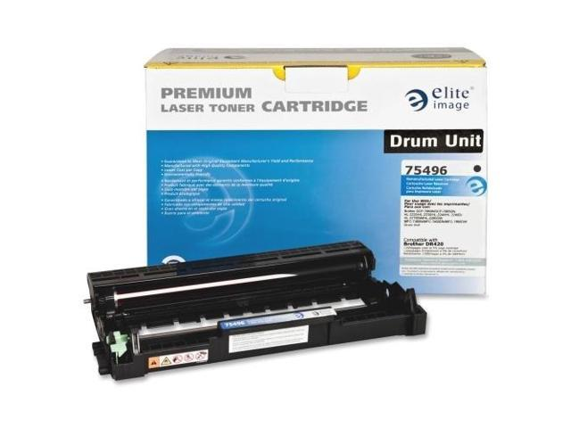 Elite Image 75496 Replacement Drum 12 000 Page Yield Black