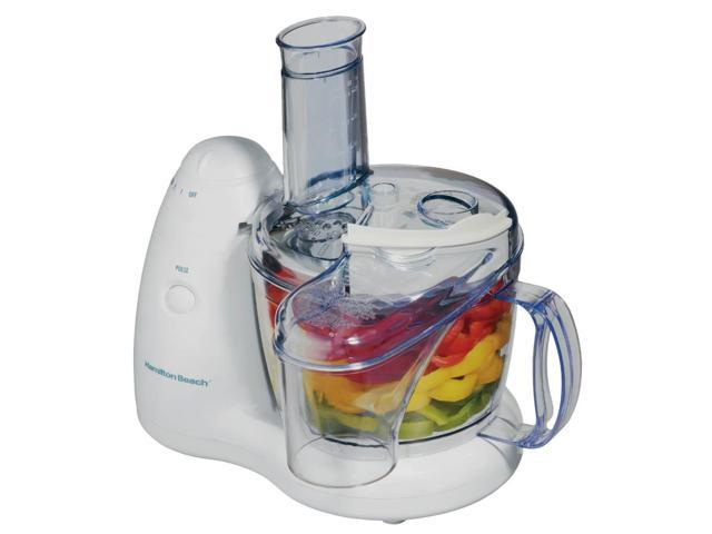 Hamilton Beach 70550R PrepStar Food Processor with Chill Lid