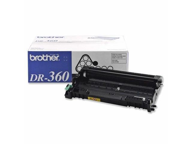 Brother DR360 Replacement Drum 12000 Page Yield Black
