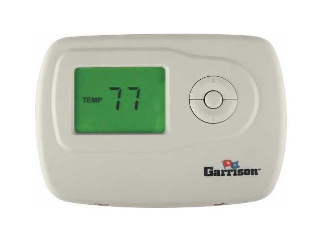 Garrison 119085 Digital Thermostat, 1 Stage Heat/Cool Non-Programmable - 4