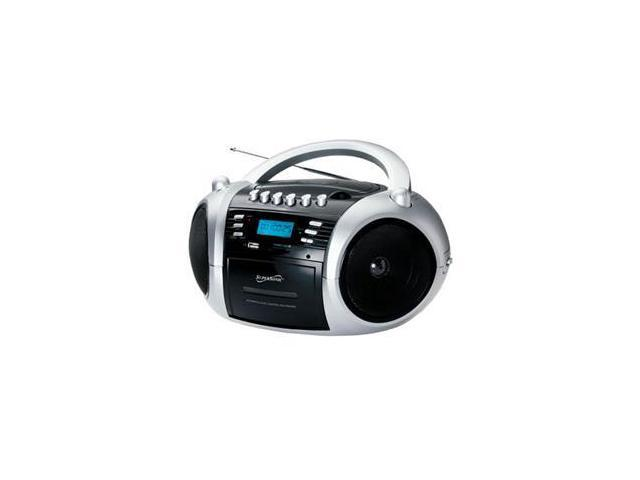 MP3CD Cassette Recorder Black
