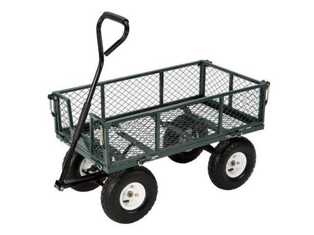 Tricam Industries FR110 Steel Cart with Fold Down Sides