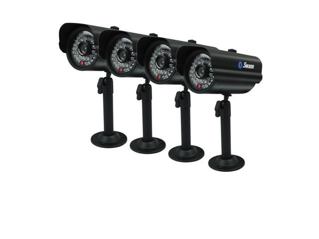 Swann 4 x PRO-600 Security Cameras - Multi-Purpose 4 Camera Pack