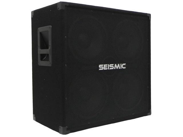 Seismic Audio - 4x10 Bass Guitar Speaker Cabinet - 800 Watts RMS - 8 Ohm