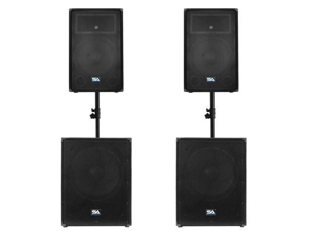 Seismic Audio - Pair 15
