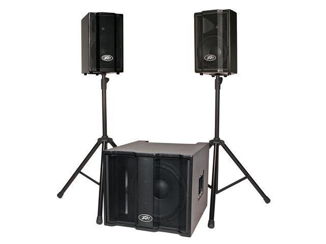 Peavey TriFlex II Portable PA Sound System Speaker System