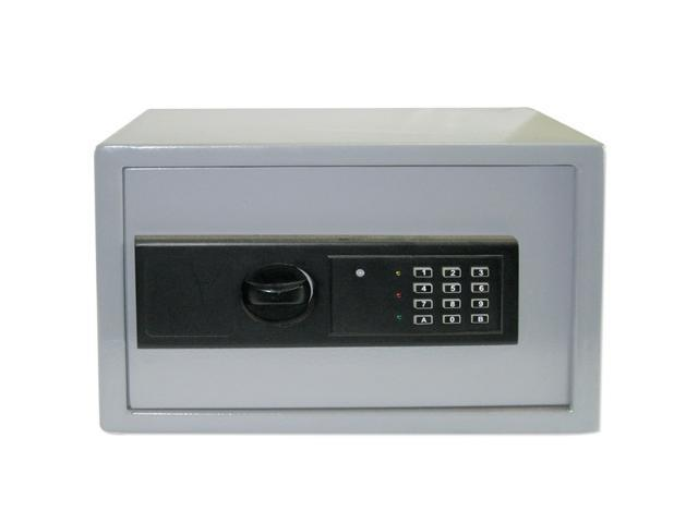 Neiko Digital Electronic Safe for Home or Business - 1.0 Cubic Foot Interior Space - Gray