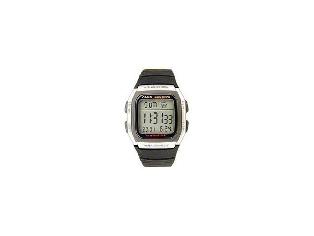 Casio W96H-1AV Men's Classic Multi-Function Chronograph Digital Sports Watch