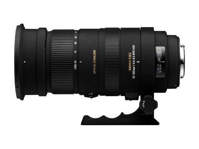 Sigma 50-500mm f/4.5-6.3 DG OS HSM APO Autofocus Lens Nikon
