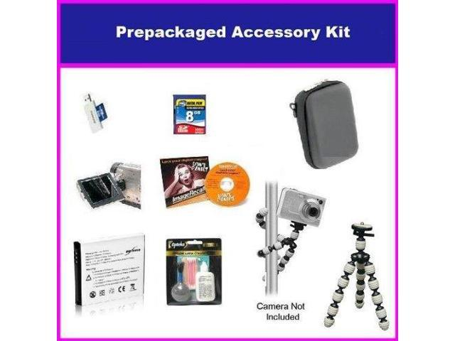 Buyers Choice Accessory Package For Canon PowerShot SX210 SD700 IS SD870 IS SD950 IS SD900 Package Includes 8GB High Speed Error Free Memory ...