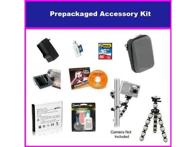 Big Value Accessory Package For The Canon PowerShot S90 SD4000 IS SD1300 IS SD980 IS Package Includes 16GB High Speed Error Free Memory Card, ...