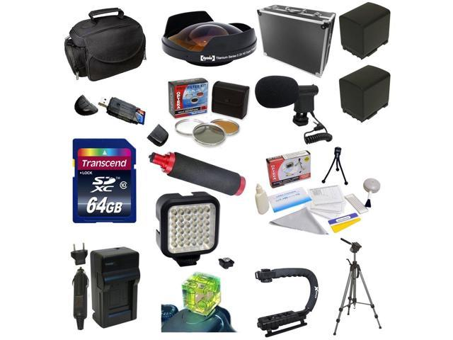 Special Edition All Sport Accessory Package For the Canon Vixia HF G10, HF G20, HF G30, HF S20, HF S21, HF S30, HF S200 Includes ...