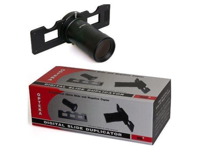 Opteka HD2 Slide Copier for Panasonic Lumix DMC-LX3 Digital Camera Includes Tube Adapter & Bonus 10X Macro Close Up Lens