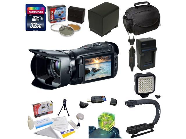 Canon VIXIA HF G20 HD Camcorder with HD CMOS Pro and 32GB Internal Flash Memory with Essential Accessory Kit Includes 32GB High Speed Error Free ...