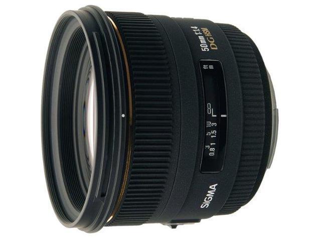 Sigma 50mm f/1.4 EX DG HSM Autofocus Lens for Nikon