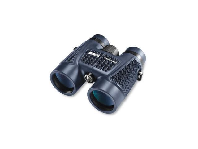 Bushnell H2O 7x50mm Porro Prism Binoculars w/Twist-Up Eyecups, Black, Clam Pack - 157050C