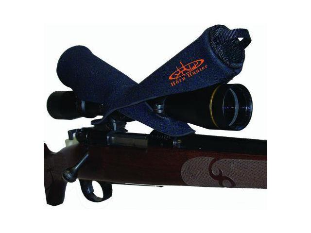 Snug Fit Snapshot Rifle Scope Cover, Extended, Black