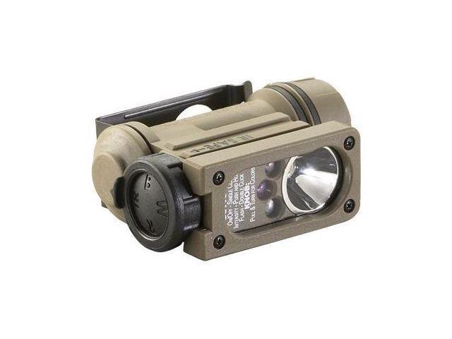 Streamlight Sidewinder Compact II Aviation Flashlight - White C4 LED,Green,Blue,