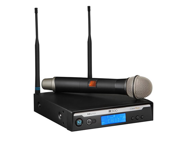EV Electro Voice R300 Wireless Handheld Microphone System - PL22 Mic NEW