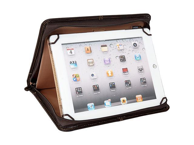SOLO Universal Fit Vintage Leather Tablet/eReader Padfolio