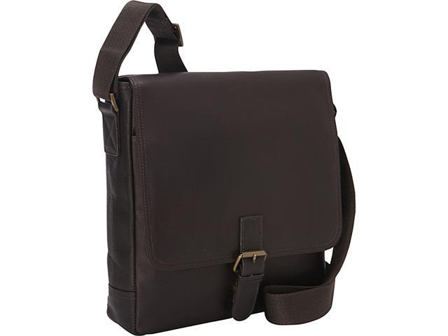 eBags Laptop Collection Colombian Leather Tablet Buckle Bag