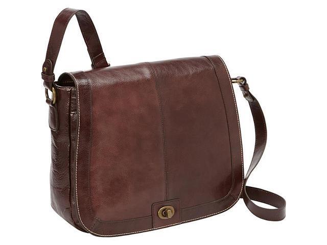 FranklinCoveyBusiness Vintage Leather Tablet Saddlebag