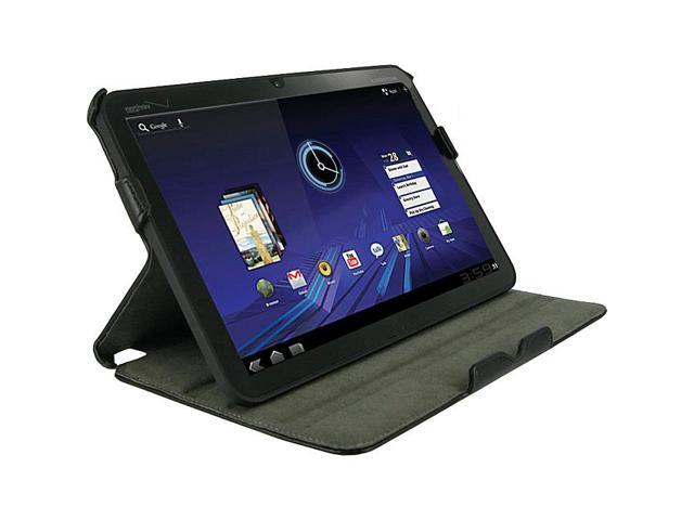 rooCASE Slim-Fit Folio Case with Adjustable Angles for Motorola XOOM Tablet