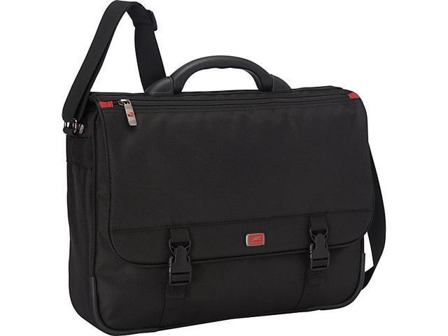Mancini Leather Goods Laptop/ Tablet Messenger (w/ RFID Secure Pocket)