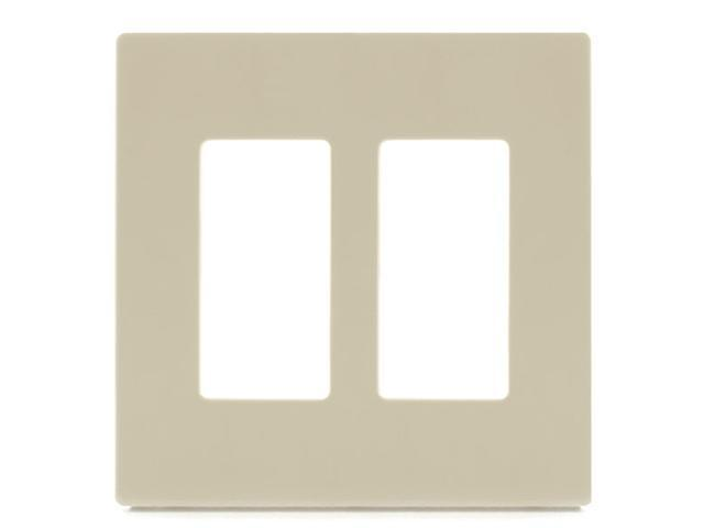 Aspire PJS262V 2-Gang Wall Plate - Ivory