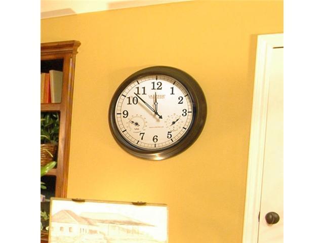 Atomic Clock w/Thermometer