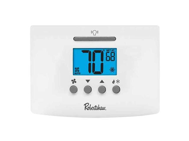 Robertshaw RS4110 Value Digital Non-Programmable Thermostat 1 Heat / 1 Cool