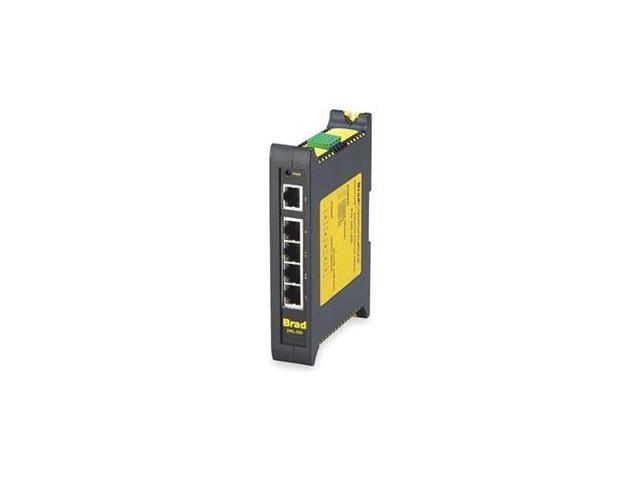 Ethernet Switch, Unmanaged, 5 Ports, RJ45