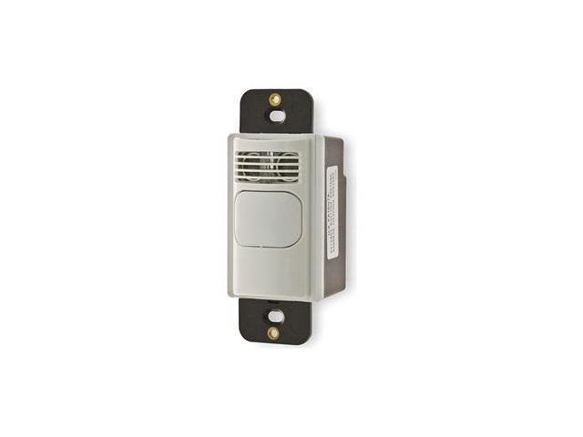 Motion Sensor, 180 Deg, 1000 Sq Ft, White